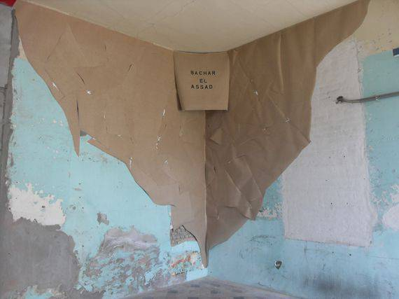 Refugee camp paintings, 2015